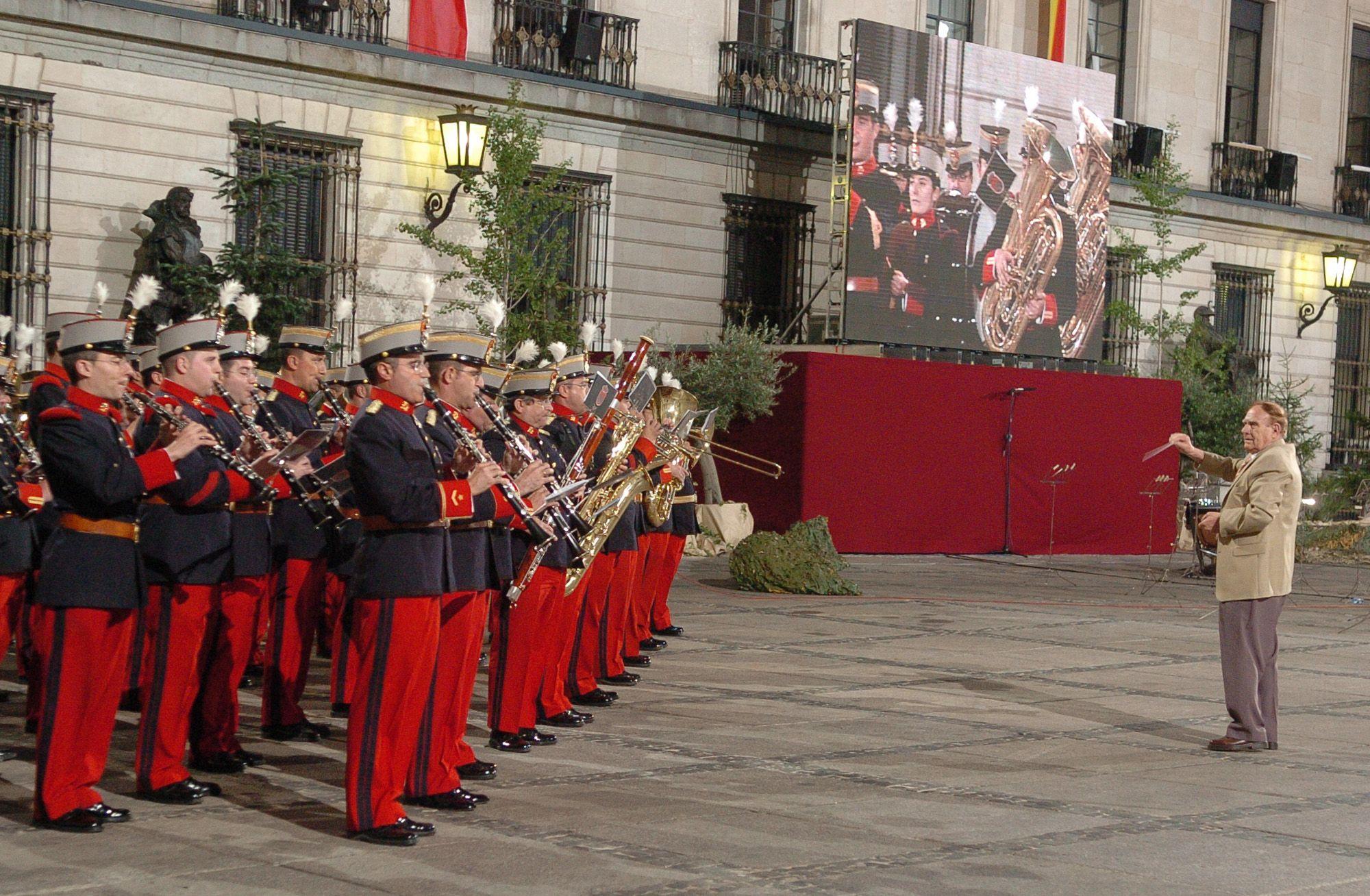 Unidad de Música del Regimiento Inmemorial del Rey nº 1