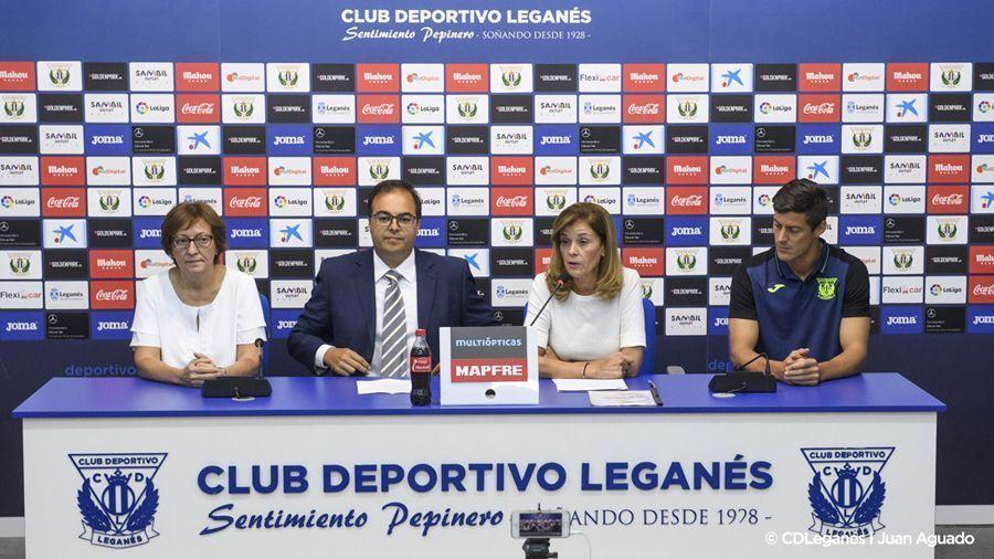 'El Leganés, con el deporte de su ciudad'