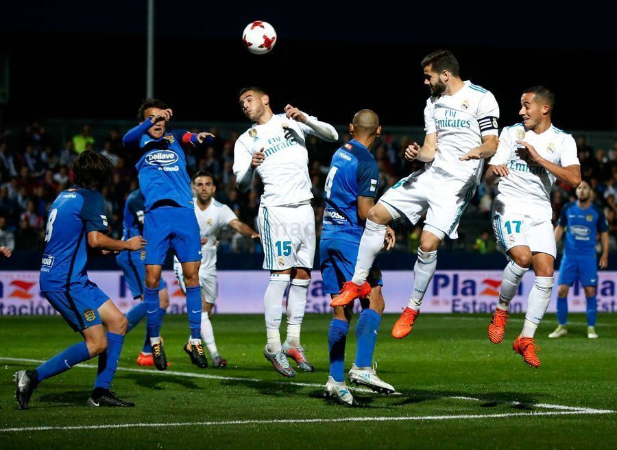 Fuenlabrada-Real Madrid