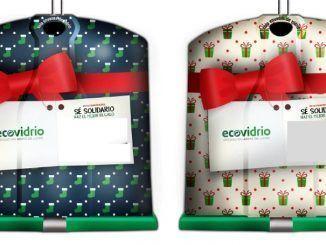 contenedores personalizados ecovidrio navidad