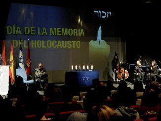 Homenaje a las víctimas del Holocausto