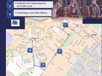 Mapa Cabalgata Alcorcón 2018