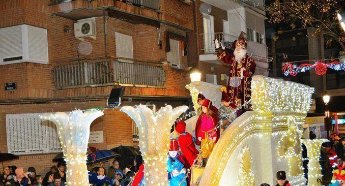 Cabalgata de Reyes el año pasado en Alcorcón