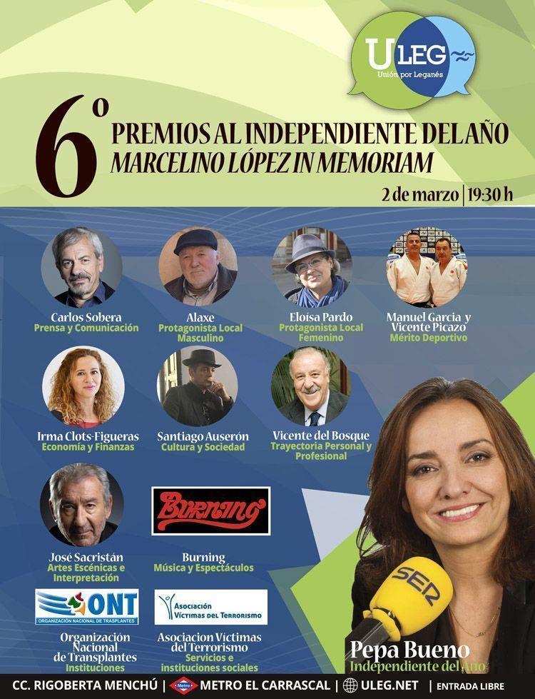 Cartel 6º Premios ULEG