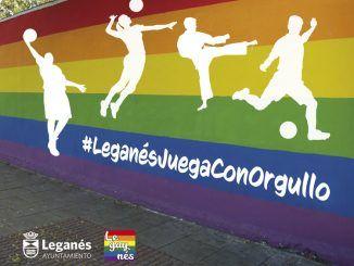 orgullo-Juega con orgullo Leganés