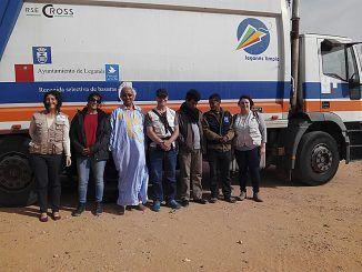 Leganés autobús Sahara