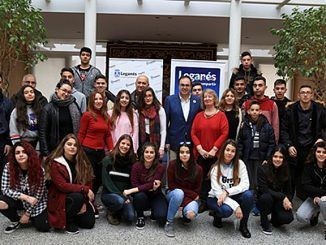 Egaleo-Leganés recepción alumnos griegos