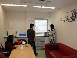 Habilitación de sala de padres en el hospital de Fuenlabrada