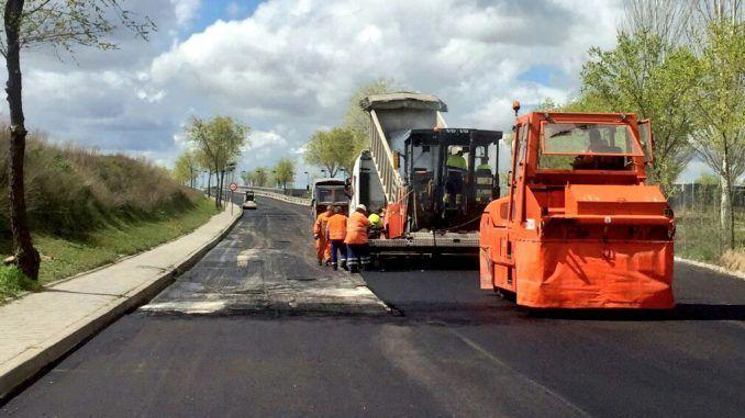 operación asfaltado