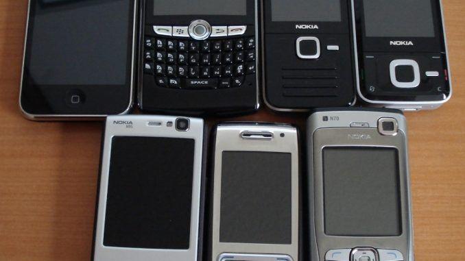 Viejos móviles - Fundación Llamada Solidaria