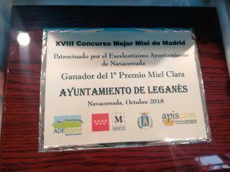 Miel Clara - 1er premio Leganés