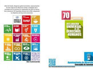 70 aniversario - Declaración Universal de los Derechos Humanos