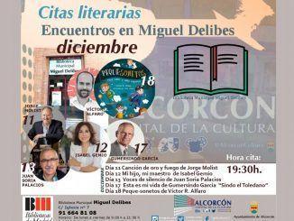Isabel Gemio y Jorge Molist presentarán en diciembre sus libros en la biblioteca Miguel Delibes de Alcorcón