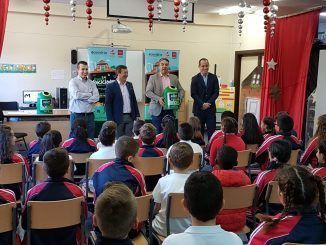 Colegio de primaria de Fuenlabrada.