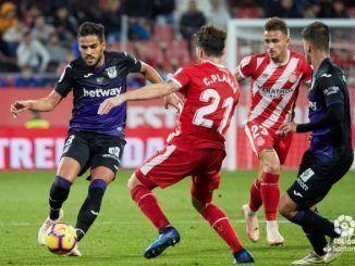 Leganés vs Girona. Foto: LaLiga Santander