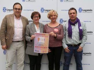 """El Gobierno municipal de Leganés respaldan a UGT Madrid en la presentación del informe """"La violencia que sufren las mujeres en el ámbito laboral"""""""