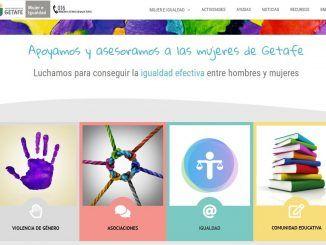 Getafe estrena nueva página web: mujer-igualdad.getafe.es