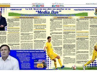 Doble página vivir Alcorcón 38 - Media Day