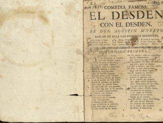 La Imprenta Municipal - Artes del Libro acoge una exposición en homenaje al escritor y dramaturgo Agustín Moreto