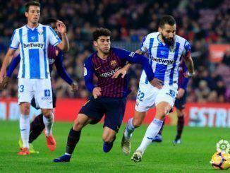 El CD Leganés dio la cara en el Camp Nou frente al FC Barcelona