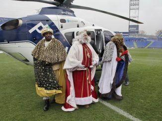 El sábado 5 de enero aterrizarán los Reyes Magos de Oriente en el Coliseum