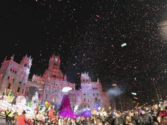 Los Reyes Magos llegaron a Madrid para hacer soñar a los más pequeños