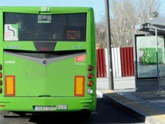 El lunes 11 de febrero entra en vigor la modificación de los horarios de la L-524 en Móstoles
