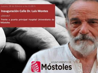 Móstoles inaugura una calle en homenaje al doctor Luis Montes