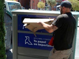 Leganés aumentó de manera notable la recogida de envases, vidrio, papel y cartón, pilas y materiales voluminosos el año pasado