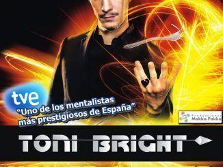 """El mentalista Toni Bright llega al teatro Buero Vallejo con su espectáculo """"Volver a creer"""""""