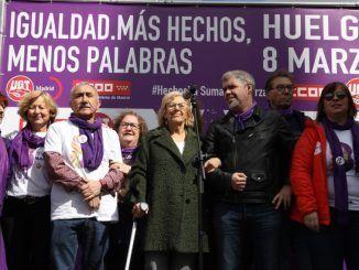 """Carmena: """"El feminismo es una enorme fuerza de progreso"""""""