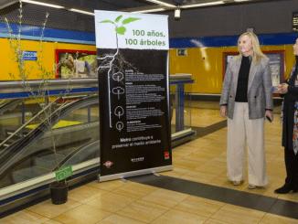 La Comunidad planta 100 árboles en las instalaciones de Metro