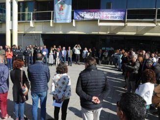 Fuenlabrada guarda un minuto de silencio para recordar a las víctimas del 11M
