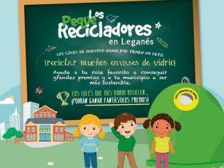 """Comienza la campaña de sensibilización escolar """"Los Peques Recicladores"""" en Leganés"""