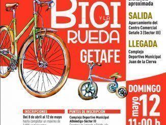 Getafe celebrará la Fiesta de la Bicicleta y la Rueda el domingo 12 de mayo