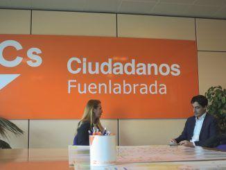 """Patricia de Frutos: """"Queremos mejorar la vida de los vecinos de Fuenlabrada"""""""
