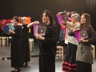 18 mujeres fuenlabreñas protagonizan el primer montaje de María Pagés en su Centro Coreográfico
