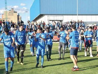 CF Fuenlabrada gana la liga en segunda B