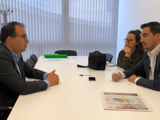 """Santiago Llorente (PSOE): """"Somos la izquierda moderada, posibilista y con sentido común"""""""