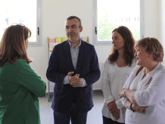 El Escritor Lorenzo Silva Visita la Biblioteca que llevará su nombre en Getafe
