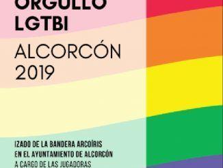 Cartel promocional del Orgullo LGTBI de Alcorcón