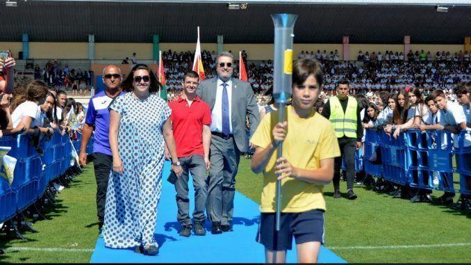 Inauguración de las IV Olimpiadas Escolares de Alcorcón.