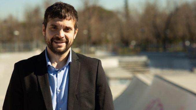 Jesús Santos, portavoz del grupo municipal Ganar Alcorcón y candidato a la alcaldía de Alcorcón en 2019