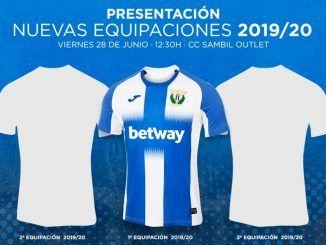Nueva camiseta del C. D. Leganés