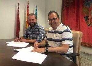 PSOE y Más Madrid-leganemos en la firma del preacuerdo de Gobierno