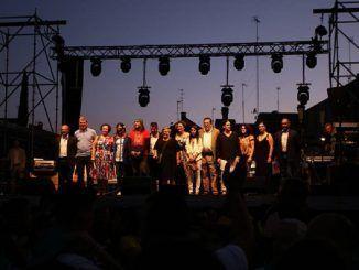 Acto durante las Fiestas de Septiembre de Móstoles de 2018