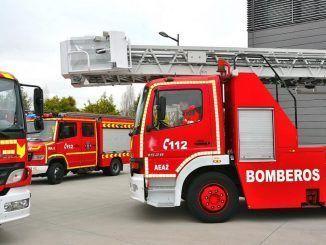 Bomberos y Protección Civil de Alcorcón reciben 114000 euros en material y equipo nuevos