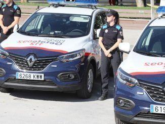 Policía Local de Getafe.