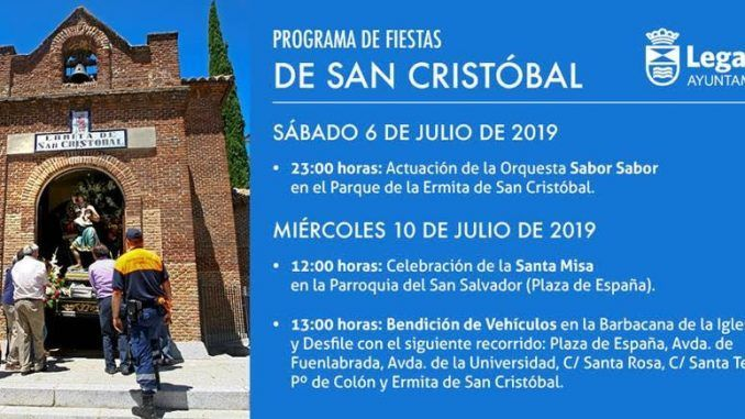 Leganés celebra las fiestas de San Cristóbal
