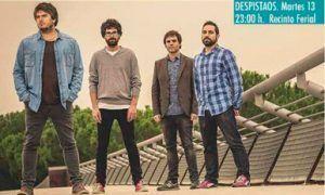 El grupo Despistaos actuará el martes 13